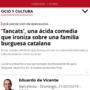 Articulo de «TANCATS» en El Periódico de Cataluña | Eduard de Vicente